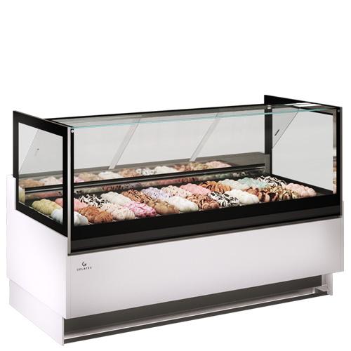 Tủ trưng bày kem Platinum 24